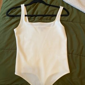 Express white body suit